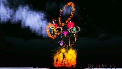 Virtual Burning Man 2010
